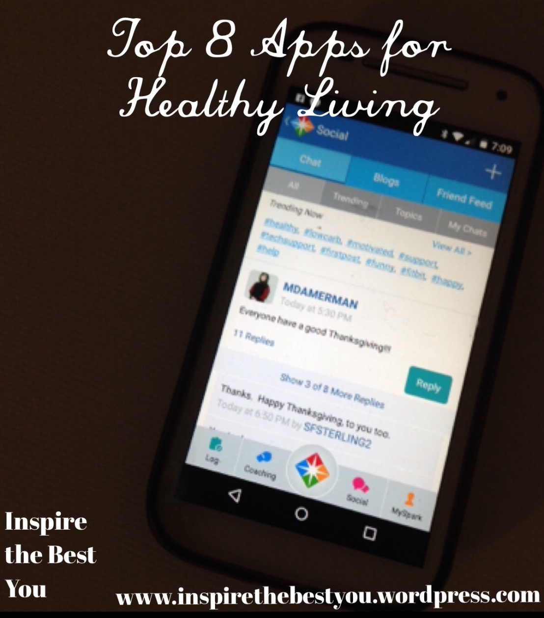 Top 8 Apps for Healthy Living